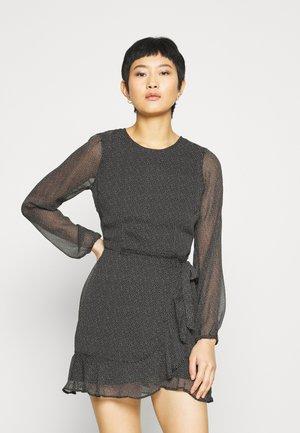 WRAP DRESS - Cocktail dress / Party dress - black