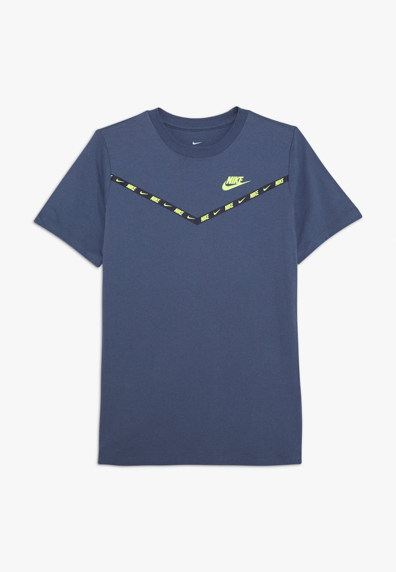 Nike Sportswear - CHEVRON - Print T-shirt - diffused blue