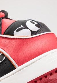 Ellesse - ASSIST - Baskets montantes - black/red/orange - 5