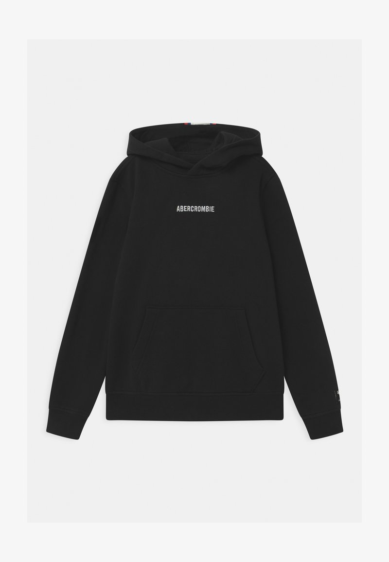 Abercrombie & Fitch - FAST TRACK - Hoodie - black