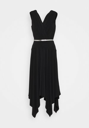ORION CAP SLEEVE - Cocktail dress / Party dress - black