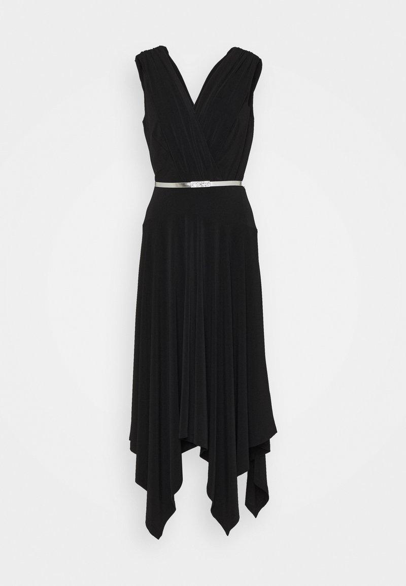 Lauren Ralph Lauren - ORION CAP SLEEVE - Cocktail dress / Party dress - black