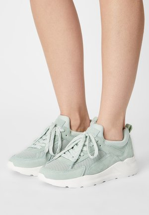 LEATHER - Sneakers basse - mint