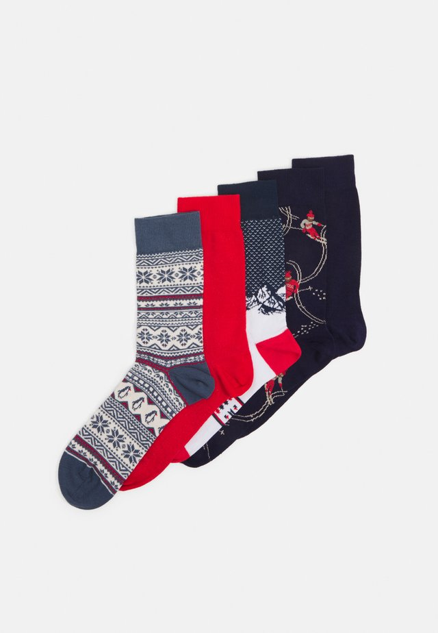 XMAS ALPINE 5 PACK - Socks - multi