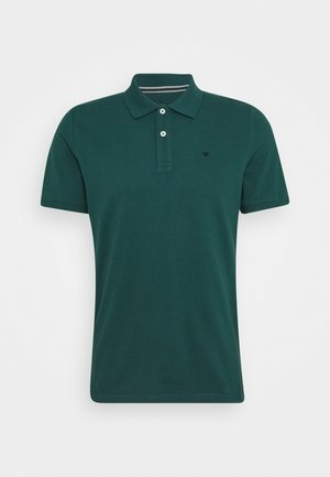 BASIC WITH CONTRAST - Polo shirt - stroke green