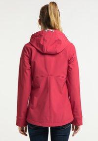 Schmuddelwedda - Soft shell jacket - rot - 2