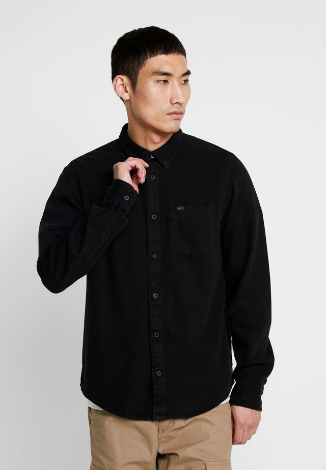 BUTTON DOWN - Overhemd - black
