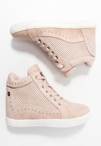XTI - Sneakers hoog - nude - 3