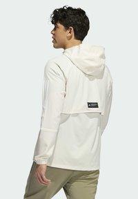 adidas Performance - PLAYER  - Windbreaker - white - 1