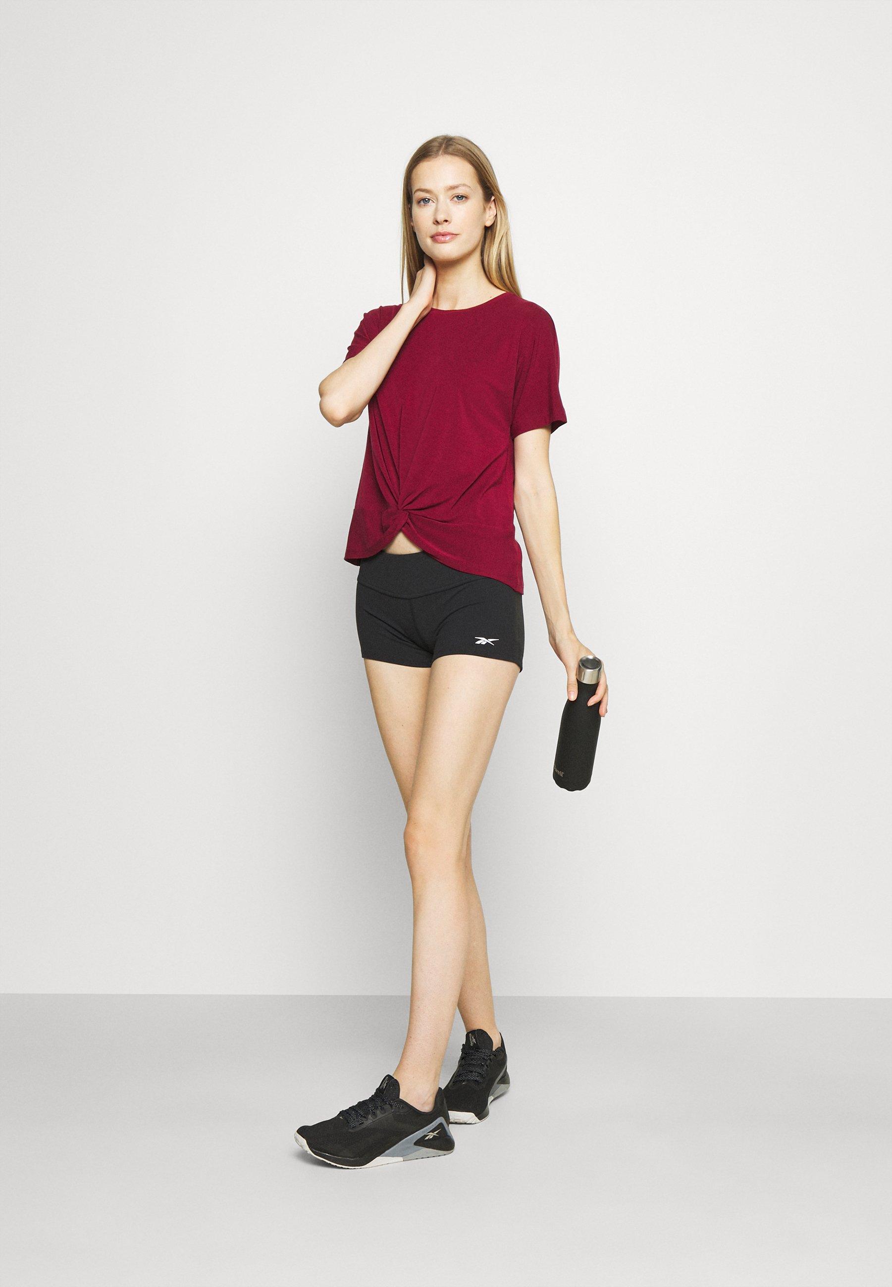 Damen BREATHE TWIST FRONT TEE - T-Shirt print