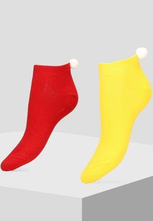 2 PACK - Socks - yellow