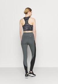 adidas Performance - Collants - grey/black/white - 2
