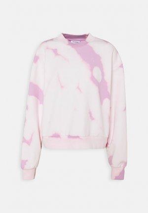 AMAZE PRINTED - Sweatshirt - pink tie dye