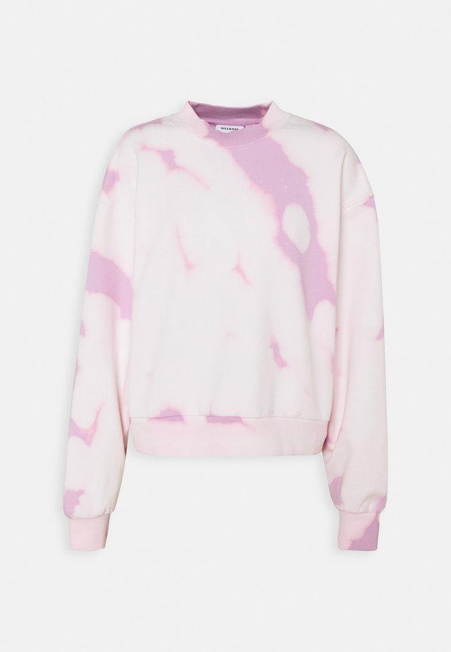 AMAZE PRINTED - Bluza - pink tie dye
