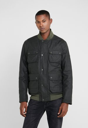 EDHILL WAX - Bomber Jacket - olive