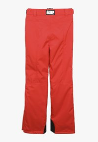 SuperRebel - SKI PANT PLAIN - Skibroek - neon red - 2