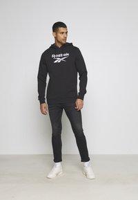 American Eagle - Slim fit jeans - washed black - 1