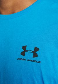 Under Armour - SPORTSTYLE LEFT CHEST - T-Shirt basic - electric blue - 4