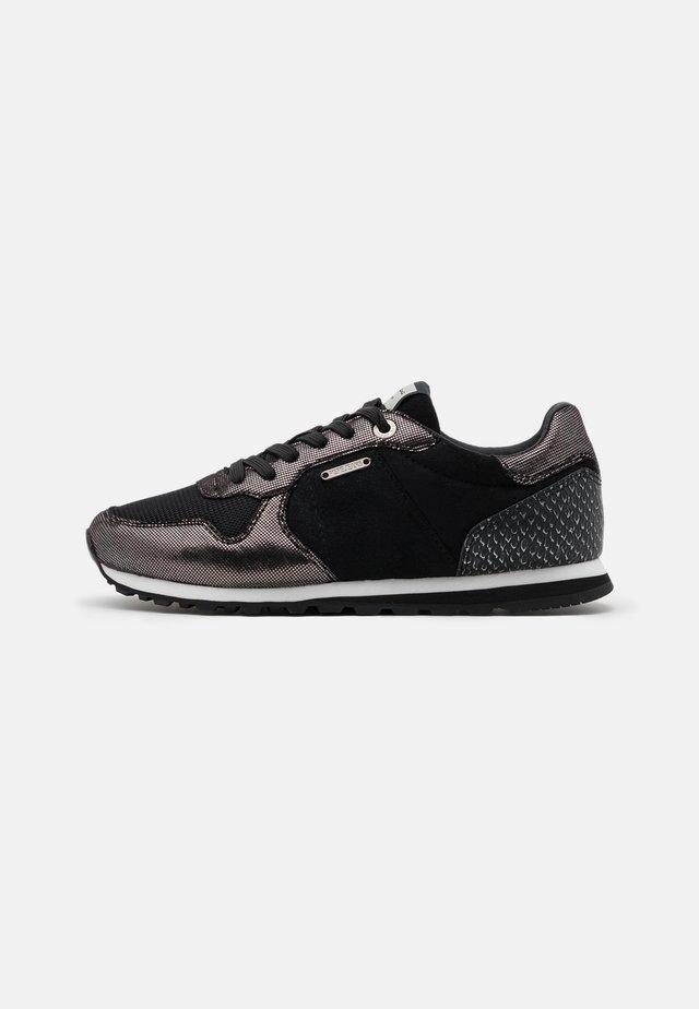 VERONA TOP - Sneakers laag - black