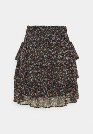 YASMIRA SKIRT - Mini skirt - black