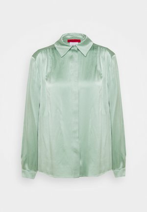 GRADINO - Button-down blouse - green