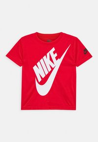 Nike Sportswear - FUTURA SET - Camiseta estampada - black/university red - 2