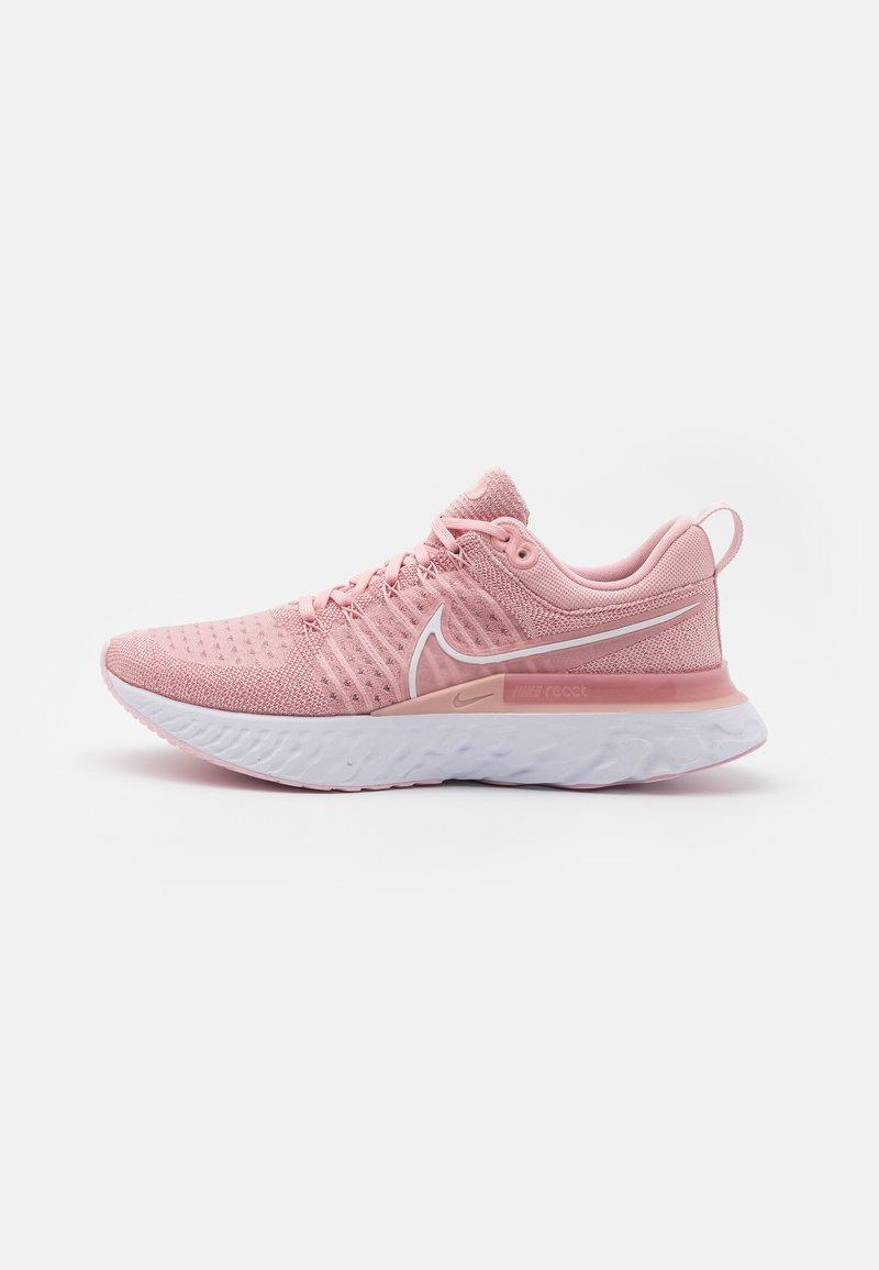 Nike Performance - REACT INFINITY RUN FK 2 - Nøytrale løpesko - pink glaze/white/pink