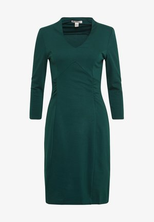 BASIC - Robe fourreau - dark green
