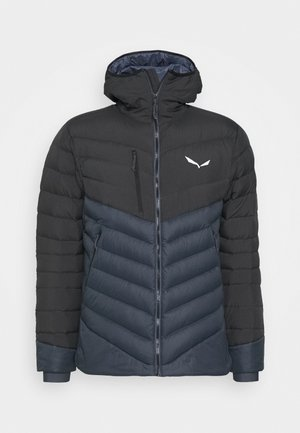 ORTLES MEDIUM - Down jacket - black out