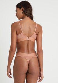 Calvin Klein Underwear - THONG - String - beige - 2