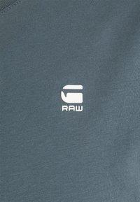 G-Star - LASH 2 PACK - Basic T-shirt - dark slate - 3