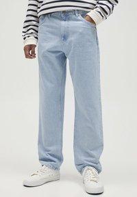 PULL&BEAR - Straight leg jeans - blue - 0