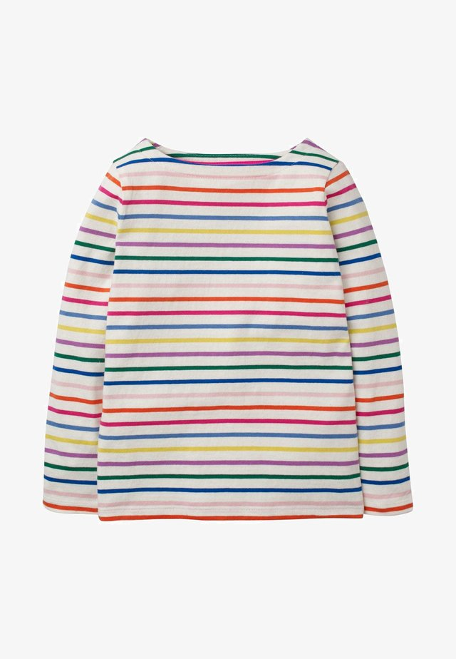 BRETON - Long sleeved top - regenbogen/bunt, gestreift