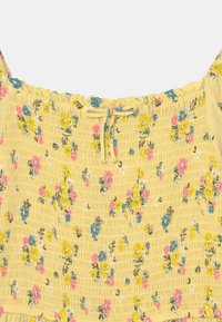 Marks & Spencer London - SHIRRED FLORAL - Day dress - yellow - 2