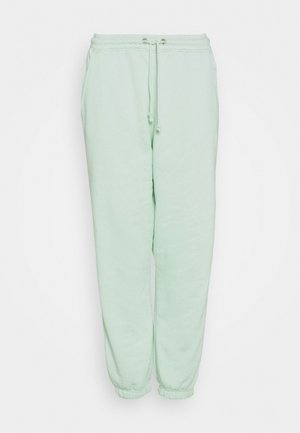 90S JOGGERS - Tracksuit bottoms - light green