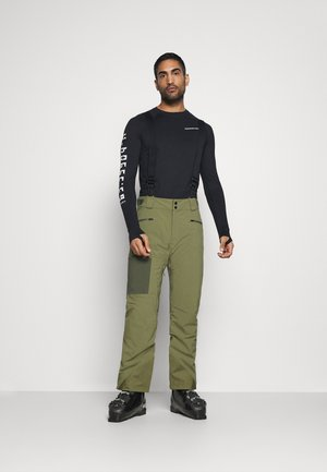 EPIC PANT - Skibroek - martini olive
