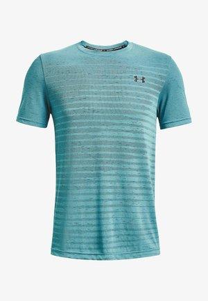 SEAMLESS FADE - Camiseta estampada - turquoise