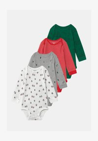 Carter's - HOLIDAY 4 PACK UNISEX - Body - multi-coloured/red/green - 0