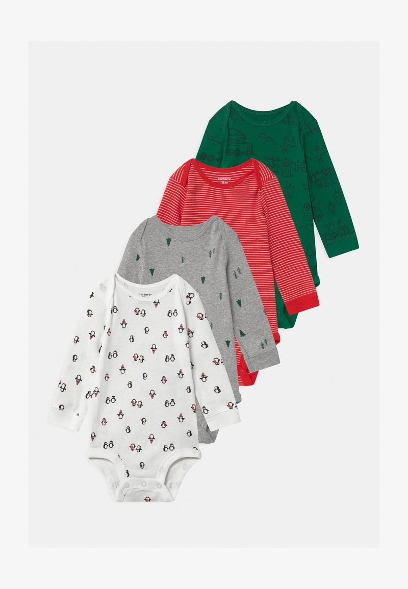 Carter's - HOLIDAY 4 PACK UNISEX - Body - multi-coloured/red/green