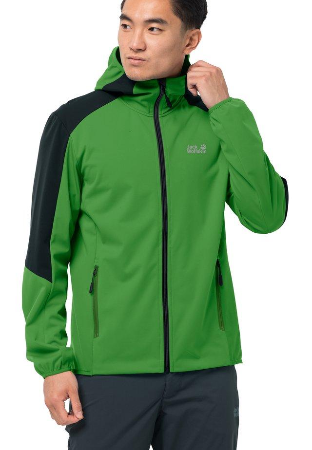 GO HIKE  - Soft shell jacket - basil green
