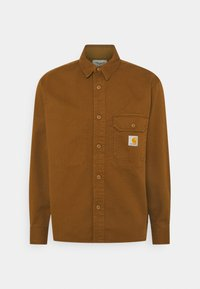 Carhartt WIP - RENO SHIRT JAC - Skjorter - dark brown - 0