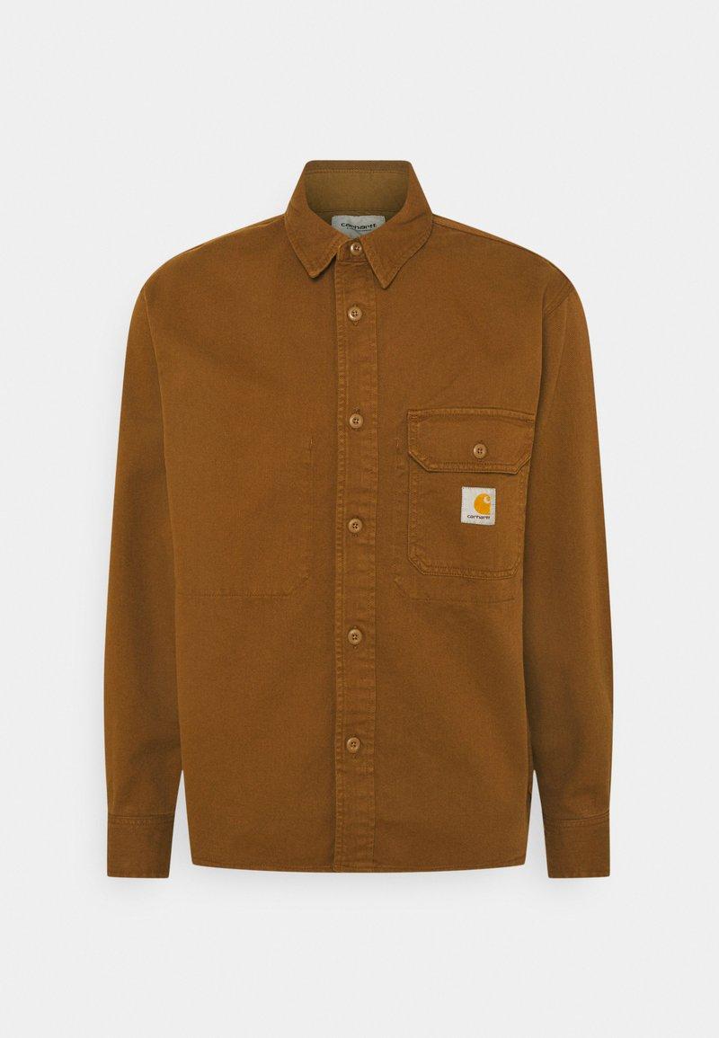 Carhartt WIP - RENO SHIRT JAC - Skjorter - dark brown