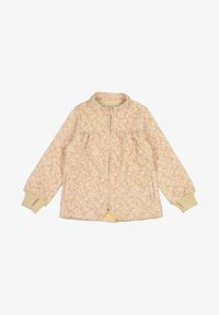 Wheat - THERMO THILDE - Winterjas - soft beige flowers - 0