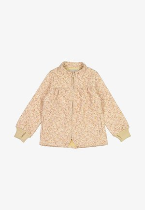 THERMO THILDE - Winter jacket - soft beige flowers