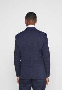 Selected Homme - SLHSLIM KYLELOGAN SET - Suit - navy blue/light blue - 3