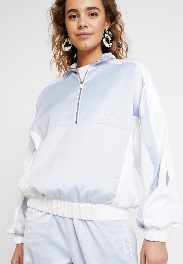 HMLDIANA HALF ZIP JACKET - Veste de survêtement - white