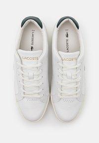 Lacoste - CHALLENGE - Joggesko - white/dark green - 3