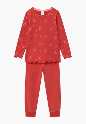 KIDS PYJAMA LONG - Pyjama set - kirsche