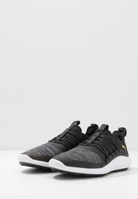 Puma Golf - IGNITE NXT SOLELACE - Golfové boty - black/team gold