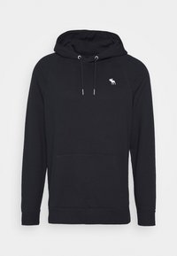 Abercrombie & Fitch - ICON POPOVER  - Jersey con capucha - navy - 0